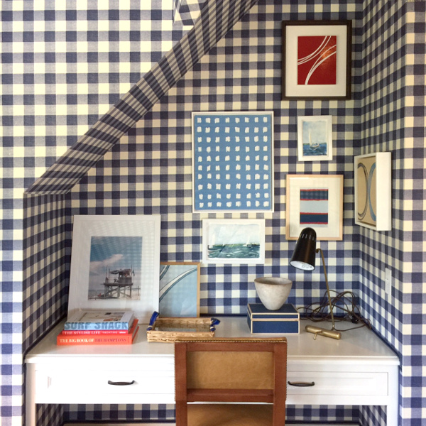 Coastal Living Idea House: Blue and White all over