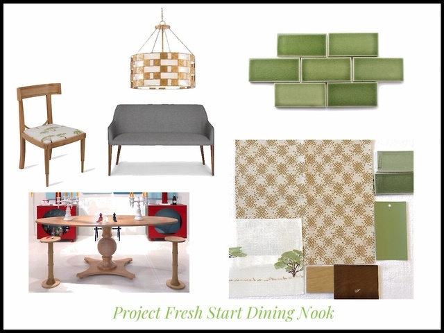 Design board for ORC dining nook