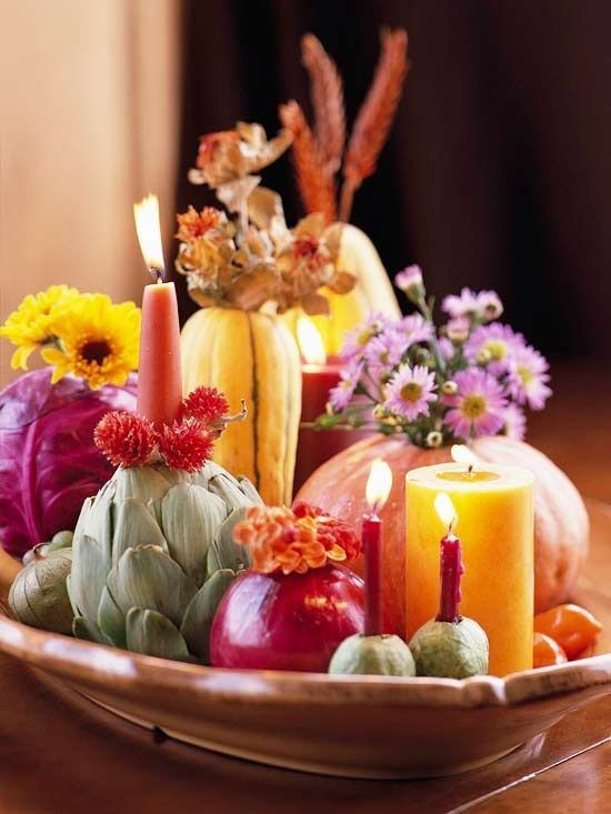 Fall decorating in five minutes