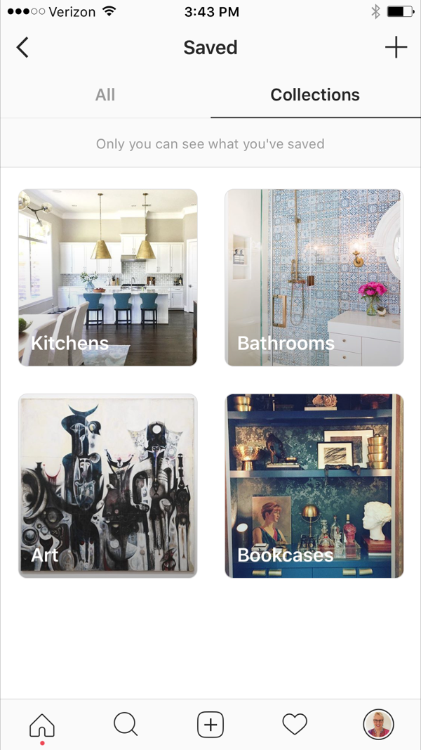 Downsizing update and how to use Instagram like Pinterest