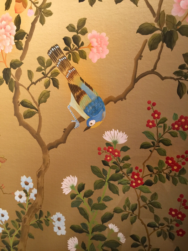 Fromental wallpaper: Linda Holt Photo
