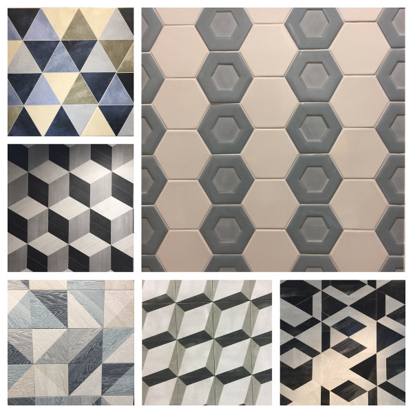 geometric tile trends
