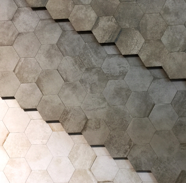 hexagon shaped tile trends