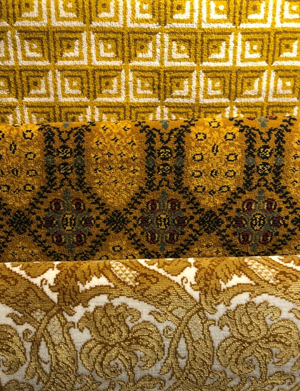 Pierre Frey Gold rugs