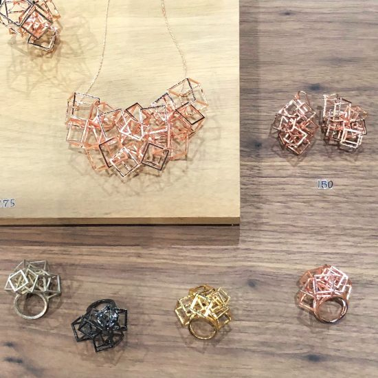 architectural inspired jewelry