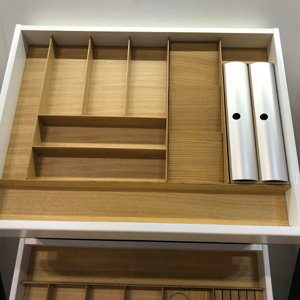 luxury kitchen drawer dividers