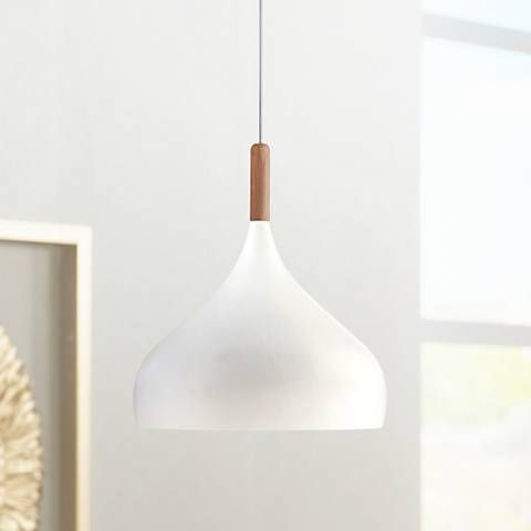 white hanging pendant lights from Lamps Plus
