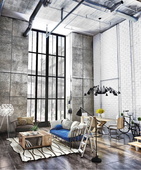 city loft space