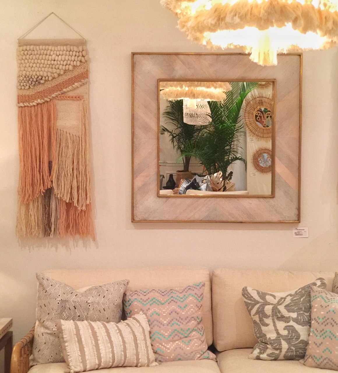 macrame and boho inspired trend