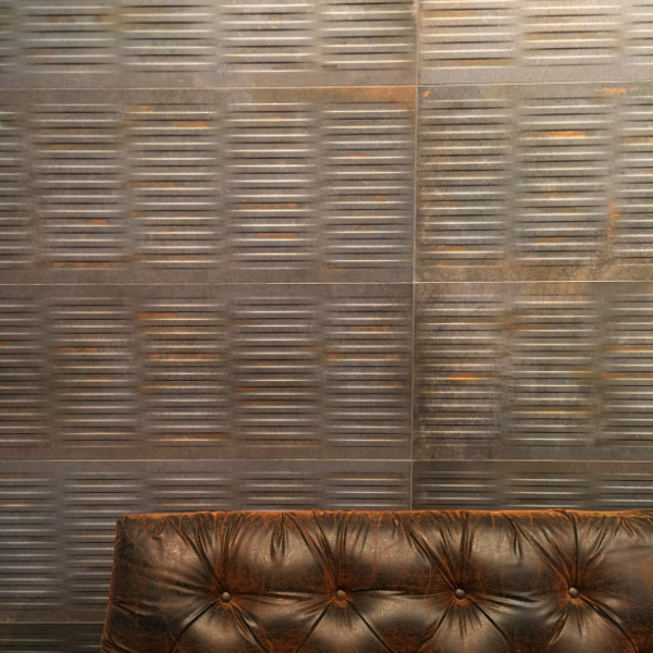 Metallic tile trend