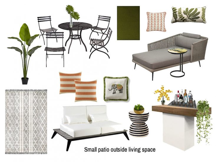 furniture for small patio space