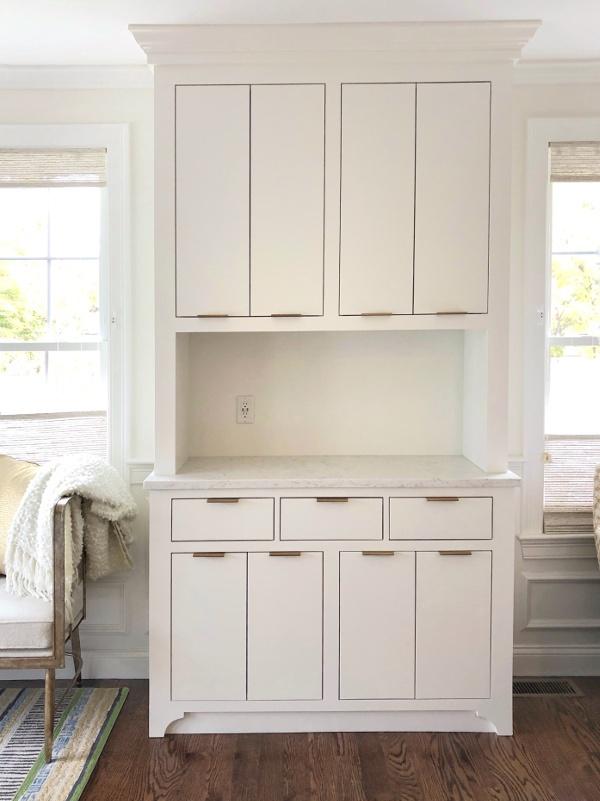 custom built pantry