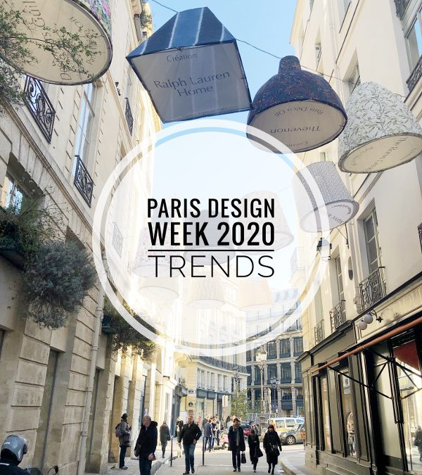Paris Design Week Trends