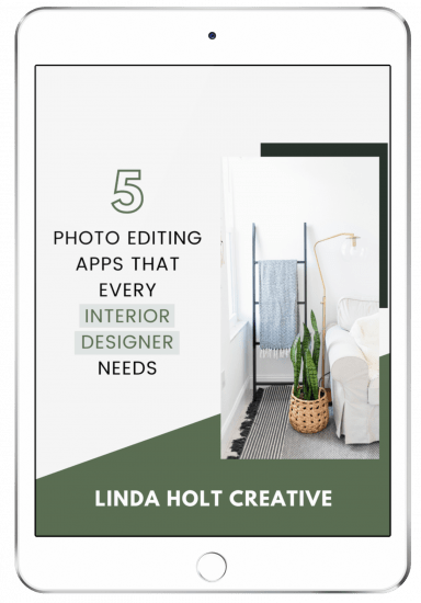 photo editing apps for interior designers