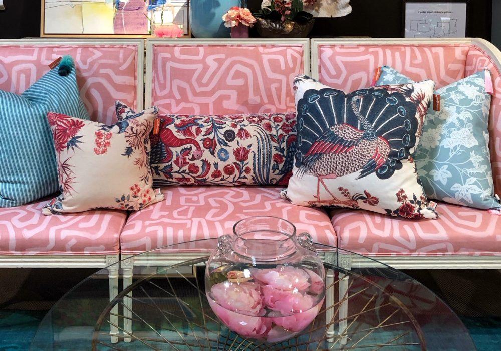 pink sofa design trends