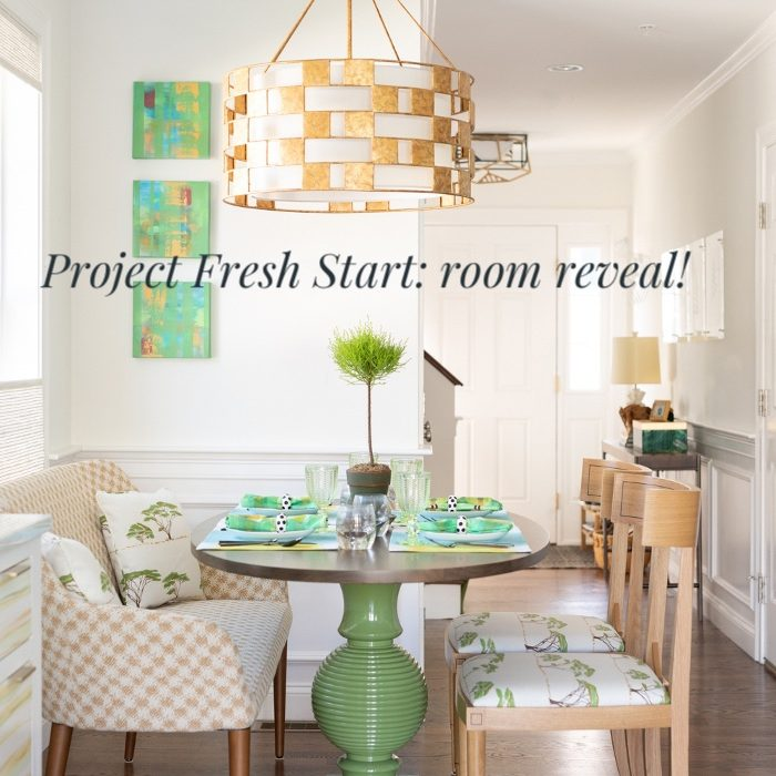 Project Fresh Start room reveal