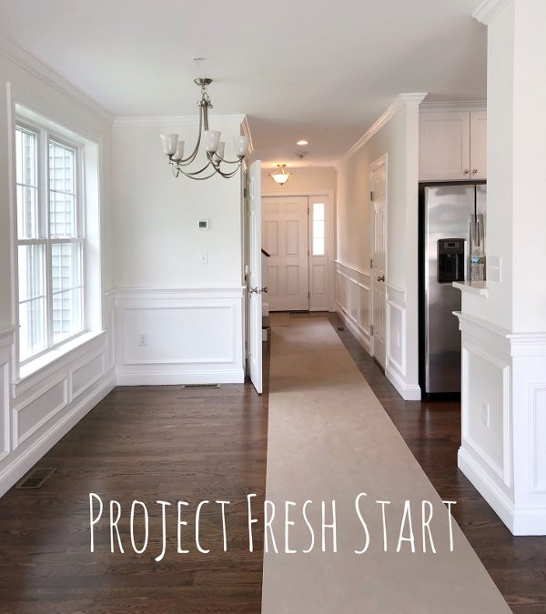 One Room Challenge Fall 2019 week one:  Project Fresh Start