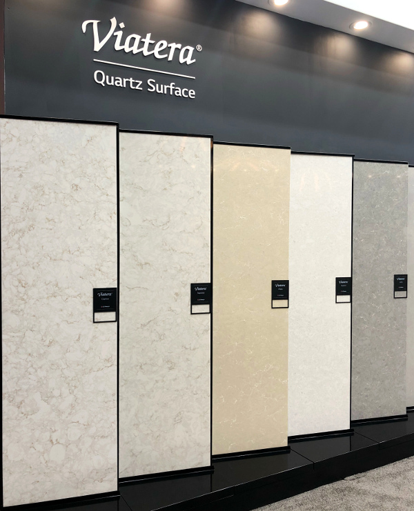 quartz color trends kitchen and bath show 2018