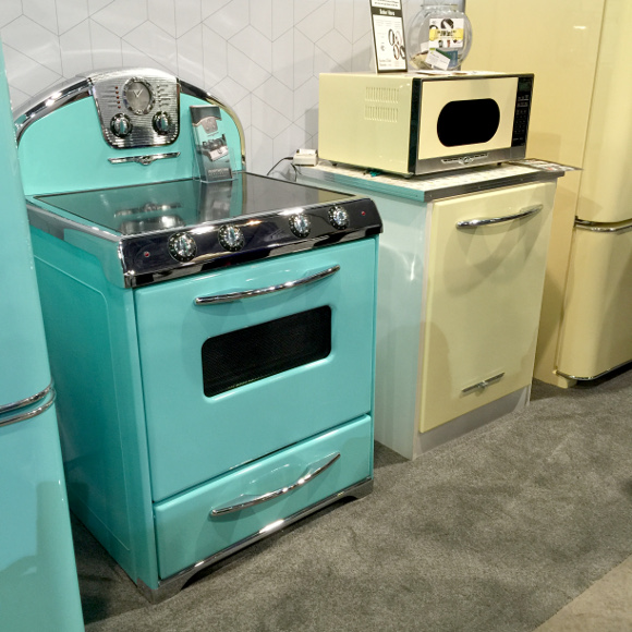 retro color appliances