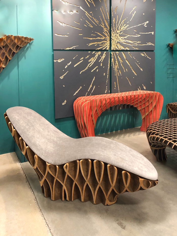trends: 2019 skeleton furniture from High Point Market