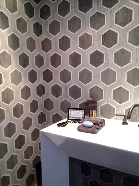 Tile crush at Walker Zanger