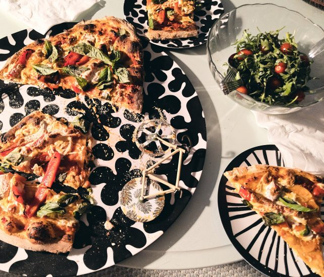 Home made pizza by susan Serra