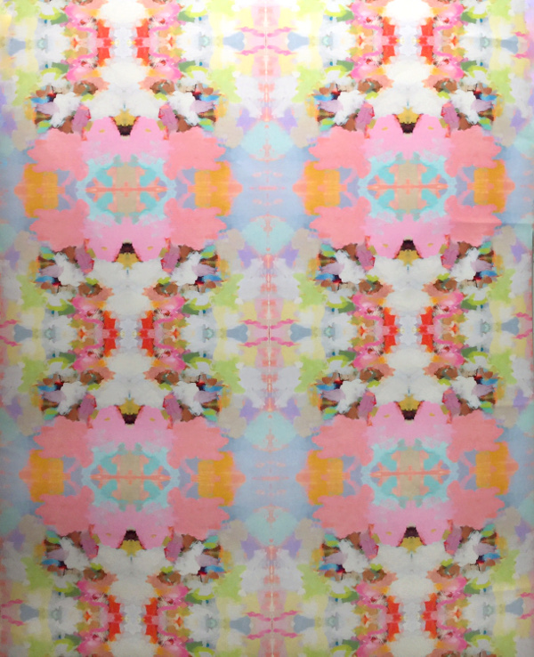 kaleidoscope inspired wallpaper trend