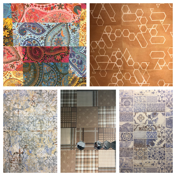 textile inspired tile trends