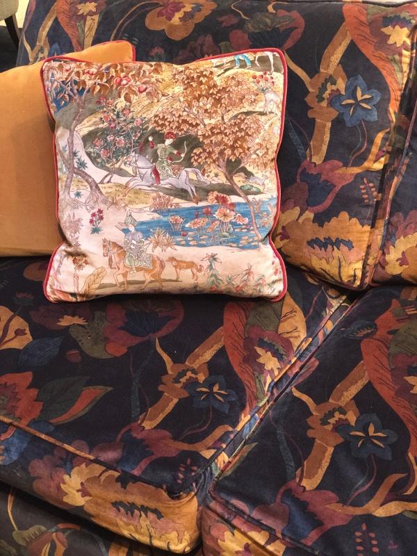 velvet fabrics Deco Off