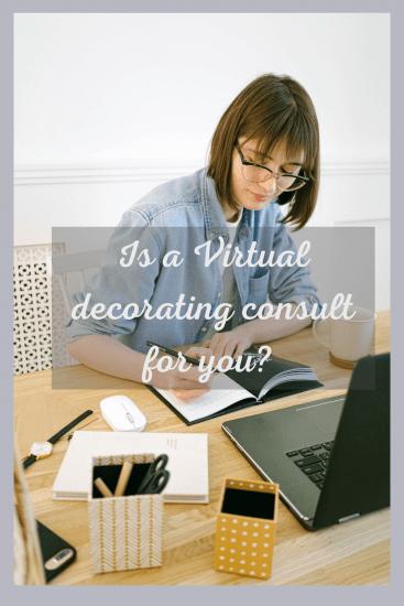 virtual decorating consult
