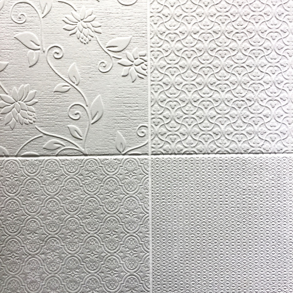 white textile inspired tile trends