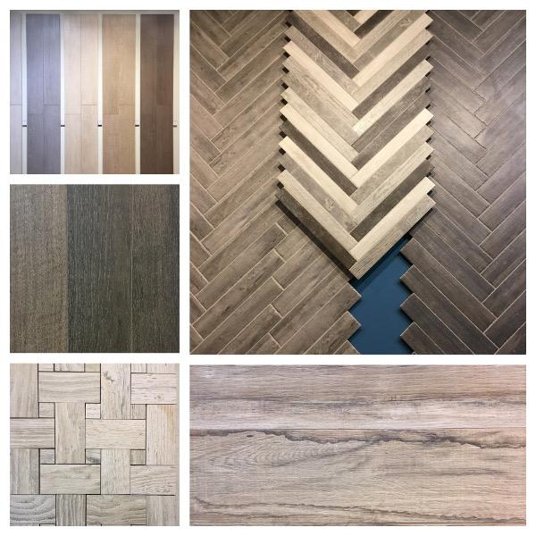 Porcelain wood tiles from Cevisama tile show